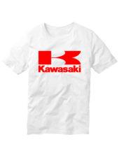 Футболка Kawasaki белая