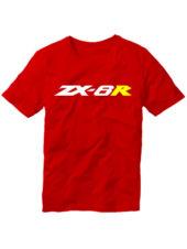 Футболка Kawasaki ZX-6R красная