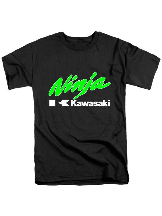 Футболка Kawasaki ninja черная