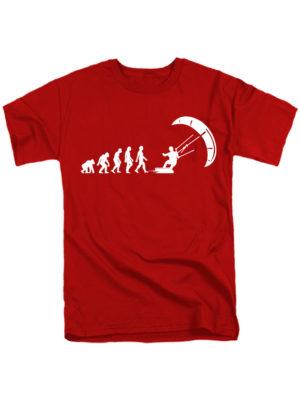 Футболка Kite Evolution красная