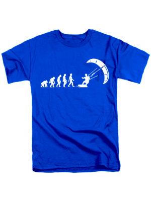Футболка Kite Evolution синяя