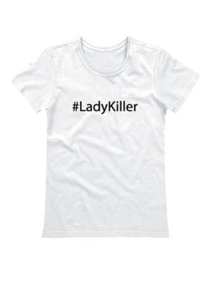 Футболка Lady Killer белая
