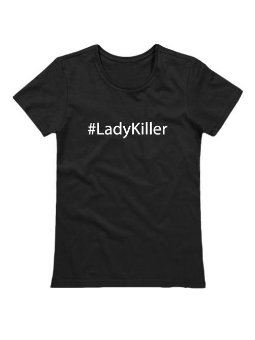 Футболка Lady Killer черная
