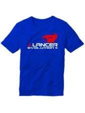 Футболка Lancer Evolution X синяя