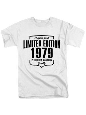 Футболка Limited Edition 1979 белая