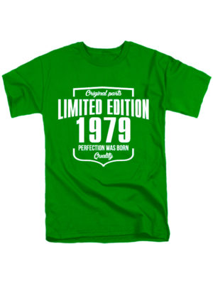 Футболка Limited Edition 1979 зеленая