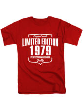 Футболка Limited Edition 1979 красная