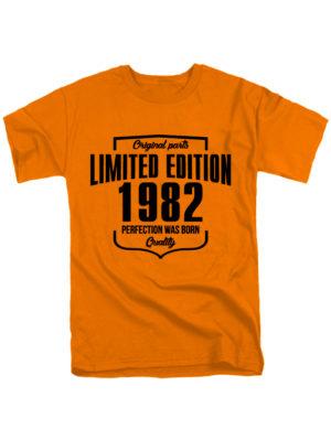 Футболка Limited Edition 1982 оранжевая