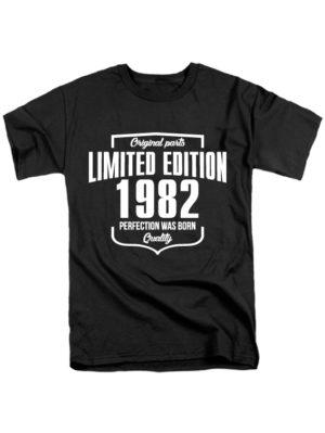 Футболка Limited Edition 1982 черная