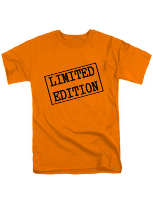 Футболка Limited edition мужская оранжевая