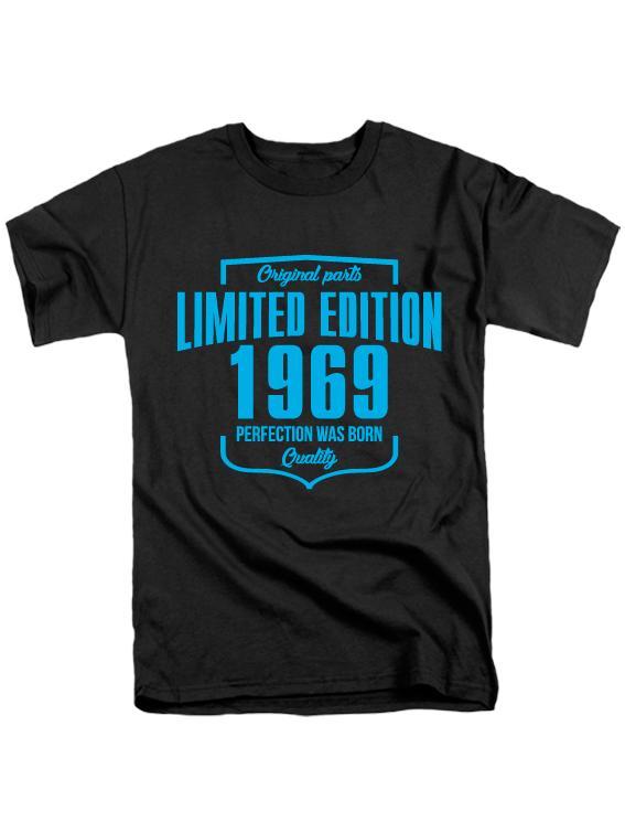 Футболка Limited edition 1969 черная
