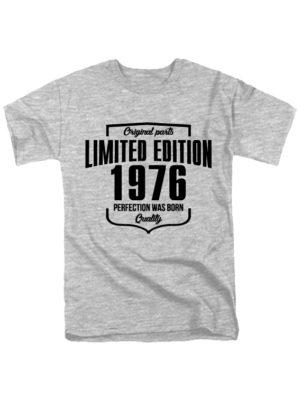 Футболка Limited edition 1976 серая