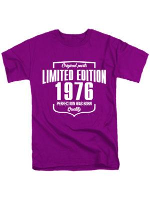 Футболка Limited edition 1976 фиолетовая