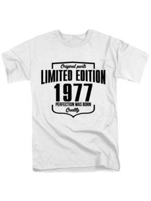 Футболка Limited Edition 1977 белая