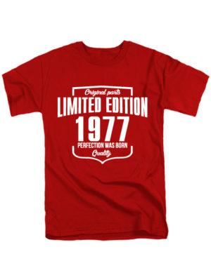 Футболка Limited Edition 1977 красная