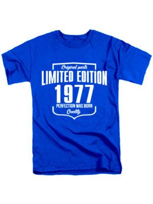 Футболка Limited Edition 1977 синяя