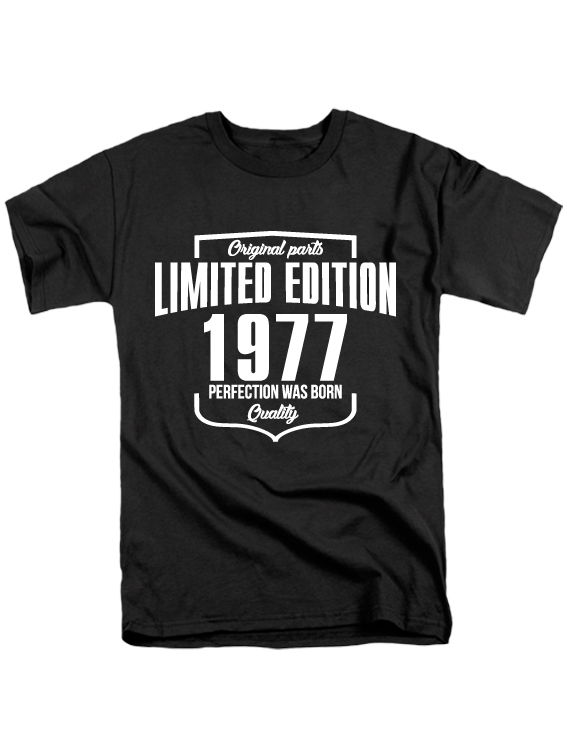 Футболка Limited Edition 1977 черная