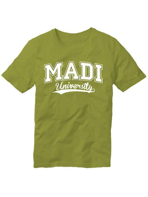 Футболка MADI university оливковая