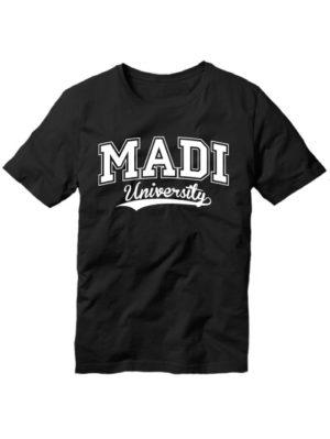 Футболка MADI university черная