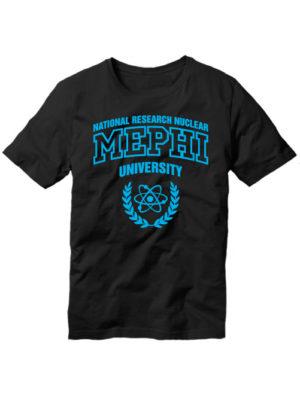 Футболка MEPHI мужская черная