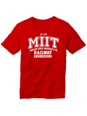 Футболка MIIT красная