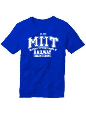Футболка MIIT синяя