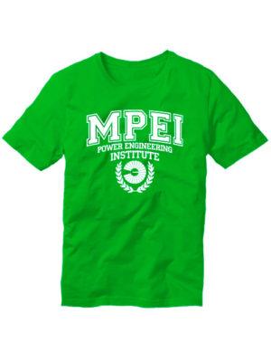 Футболка MPEI зеленая