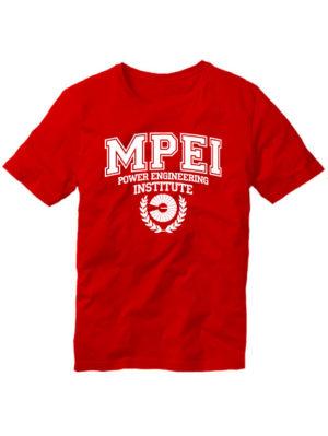 Футболка MPEI красная
