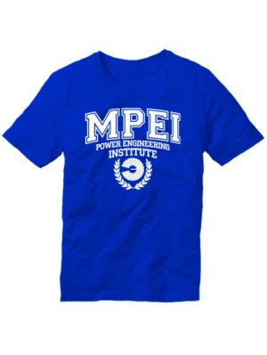 Футболка MPEI синяя