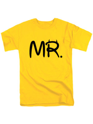 Футболка MR желтая