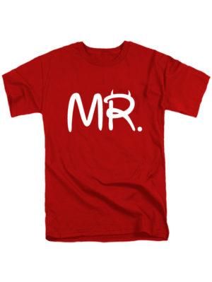 Футболка MR красная
