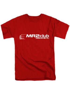 Футболка MR2Club красная