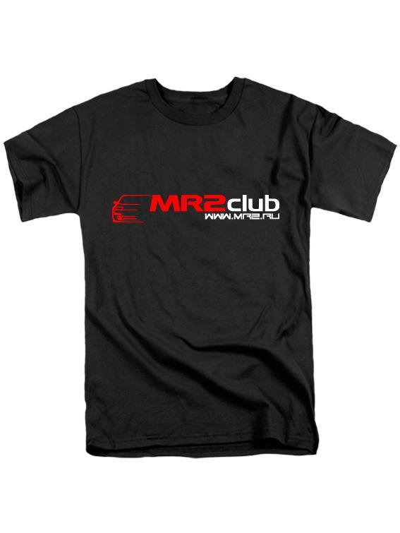 Футболка MR2Club черная