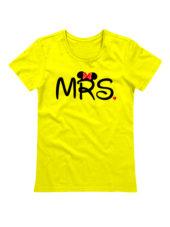 Футболка MRS желтая