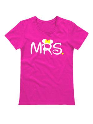 Футболка MRS розовая