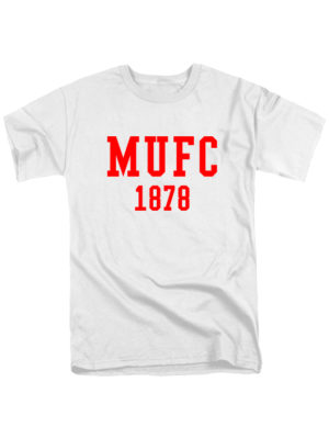 Футболка MU FC 1878 белая