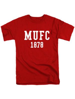 Футболка MU FC 1878 красная