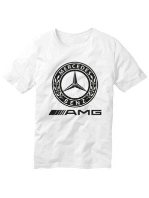 Футболка Mersedes Benz белая