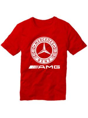 Футболка Mersedes Benz красная