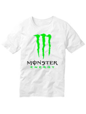 Футболка Monster energy белая