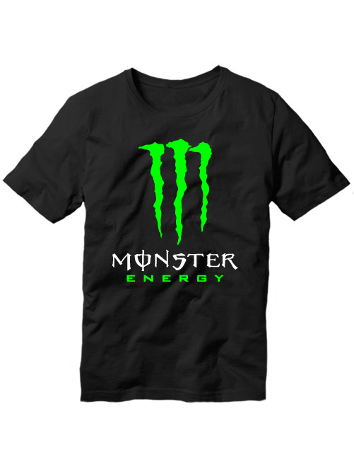 Футболка Monster energy черная