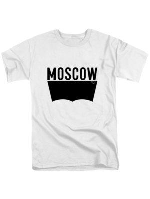 Футболка Moscow белая