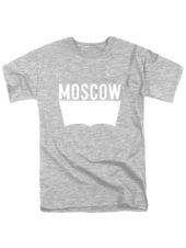 Футболка Moscow серая