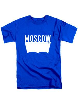 Футболка Moscow синяя