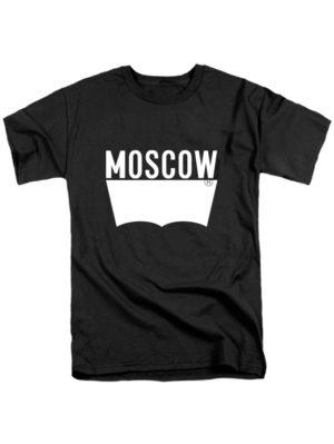 Футболка Moscow черная