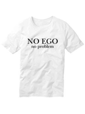 Футболка No ego белая
