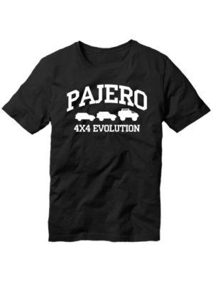 Футболка Pajero 4x4 evolution черная
