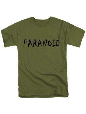 Футболка Paranoid хаки