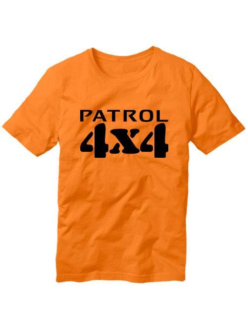 Футболка Patrol 4x4 оранжевая