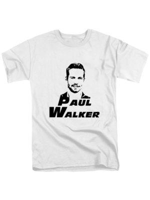 Футболка Paul Walker белая